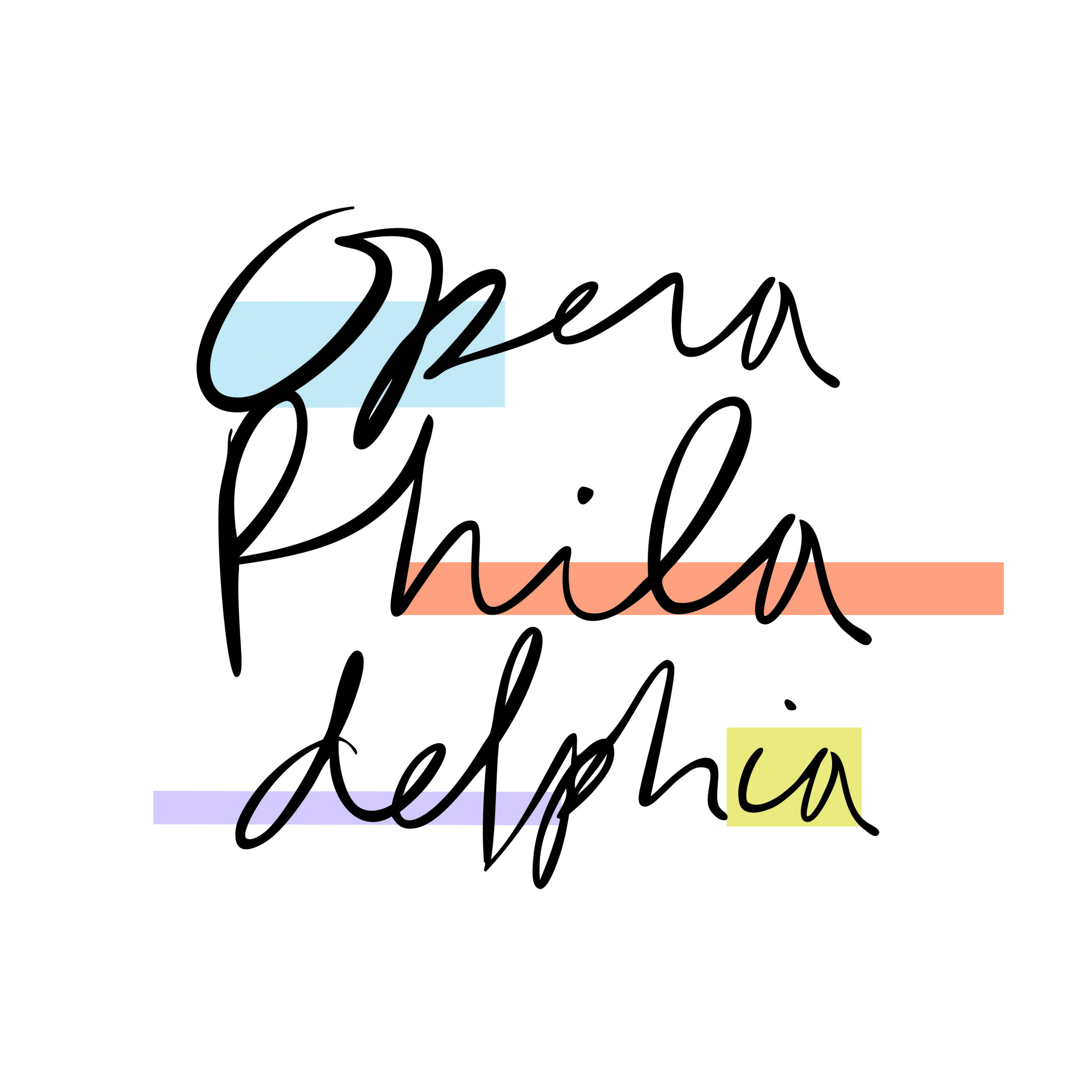 Logo courtesy of Opera Philadelphia.