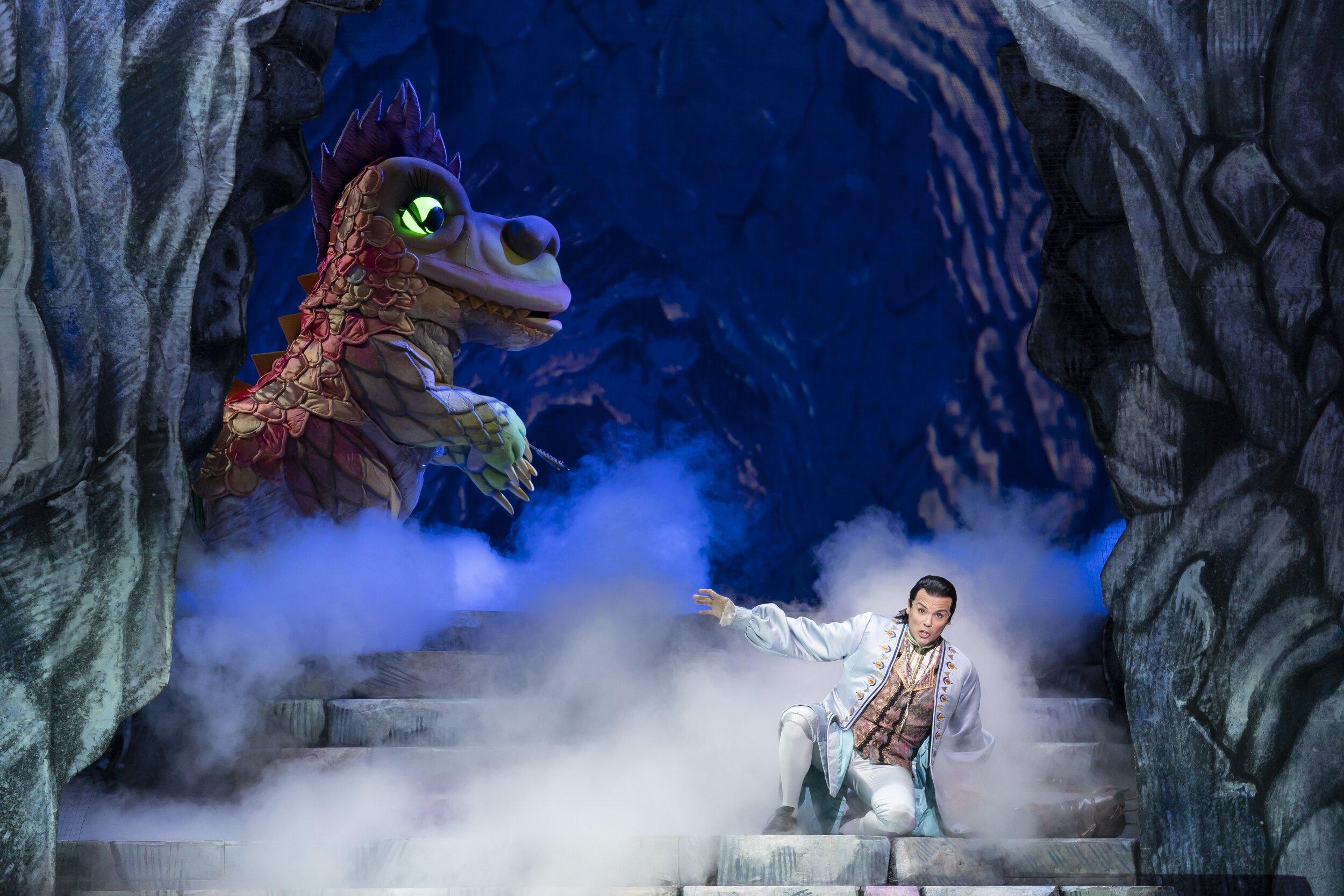 David Portillo in the role of Tamino. Photo by Scott Suchman; courtesy of Washington National Opera.