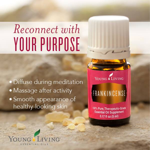 "Frankincense is one of the best oils you can use during meditation — Remember, not all oils are created equally. Young Living has a ""Seed to Seal"" guarantee."