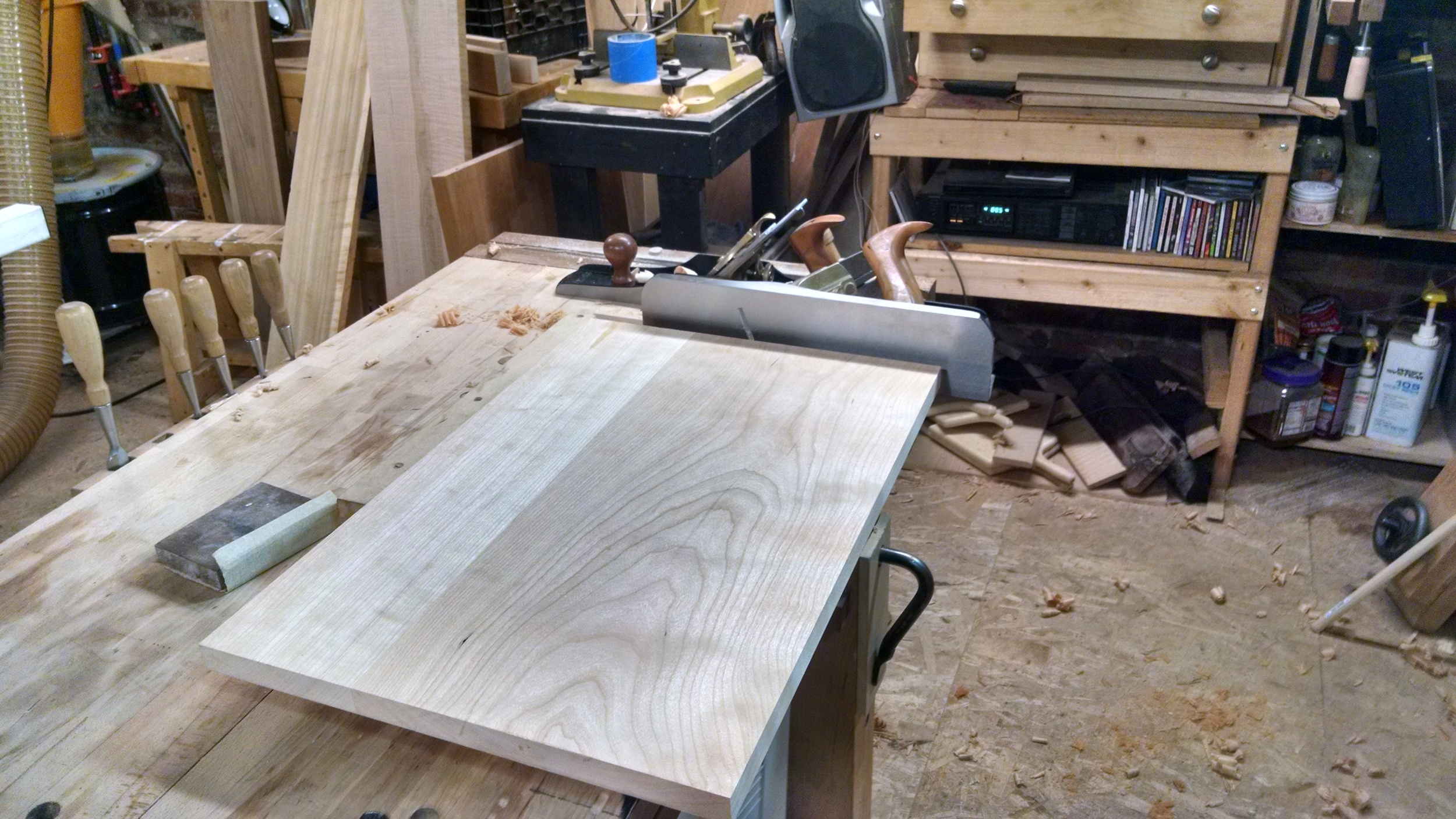 Jointing the edge
