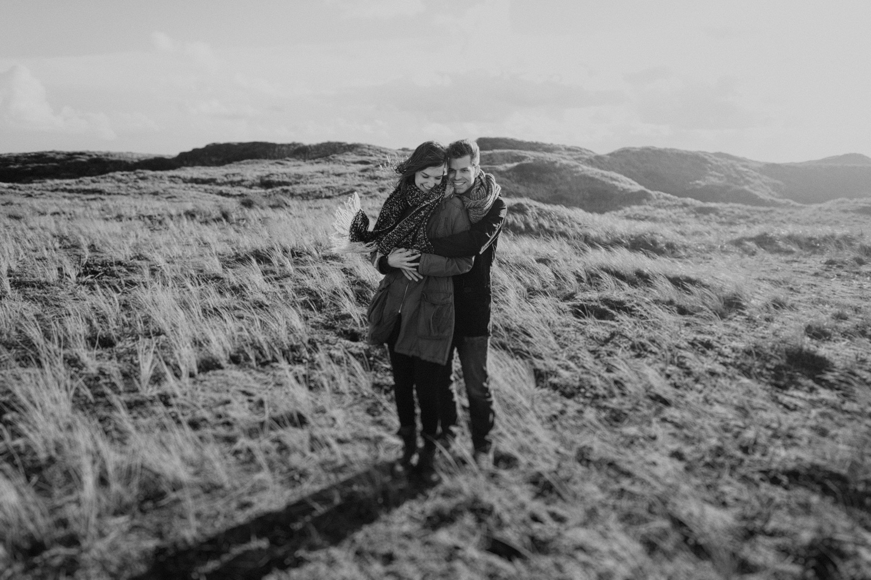 Dunes Bloemendaal Couple Hugging