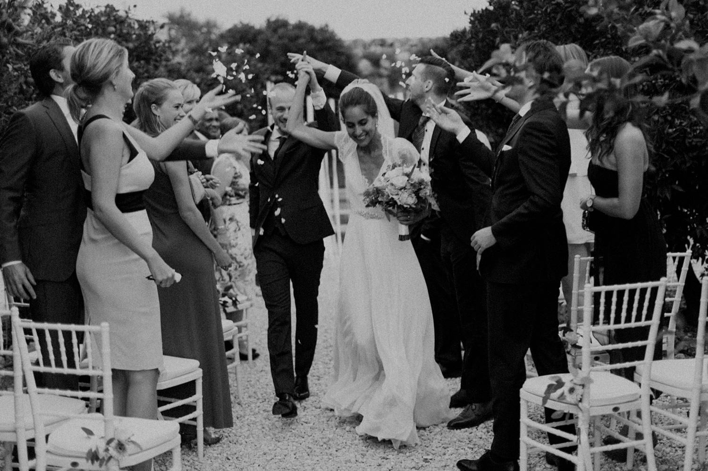 Wedding ceremony in Puglia, Italy