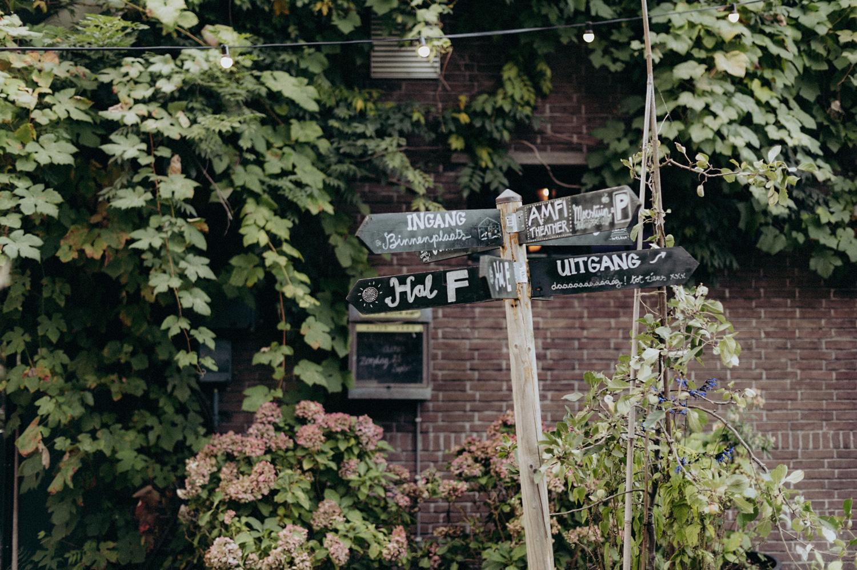 Sign at Rijk van de Keizer
