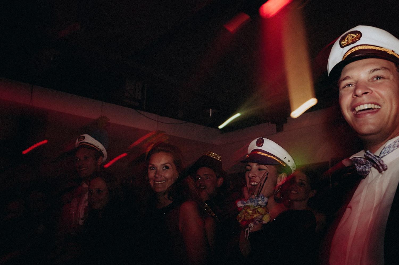 Wedding guests partying at Rijk van de Keizer