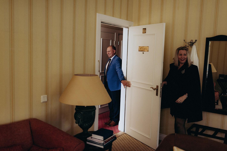 Guy holding door open