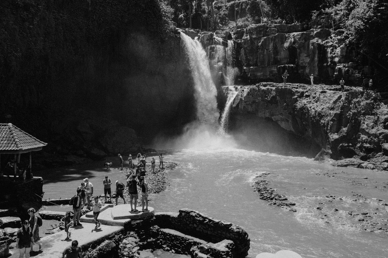 Tegenungan Waterfall close to Ubud, Bali