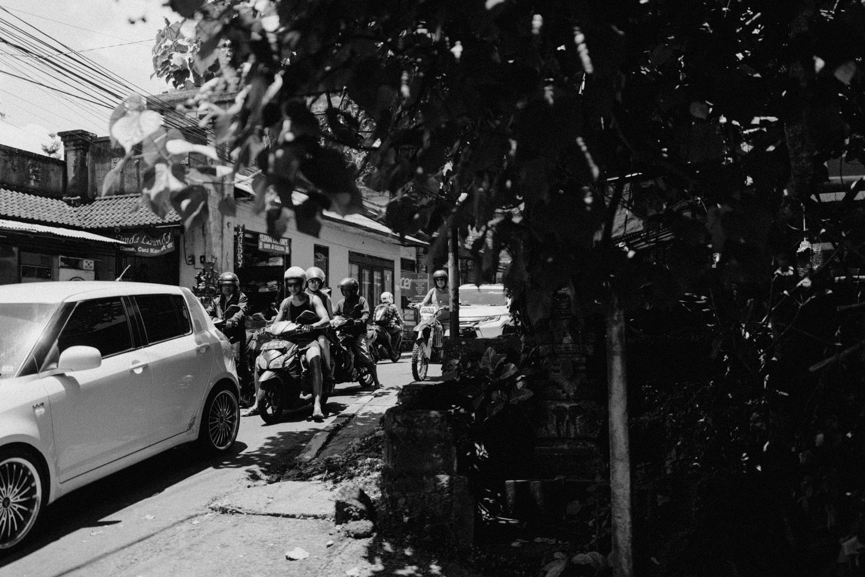 Traffic in Ubud, Bali