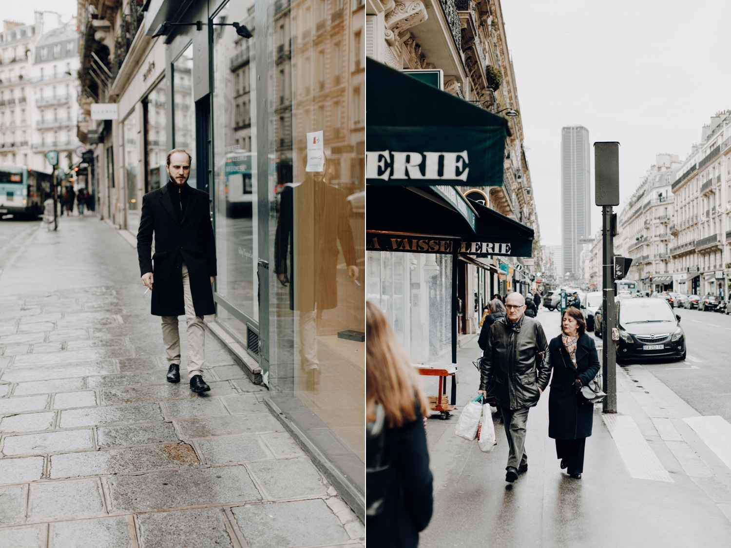 Street photography in Paris, France