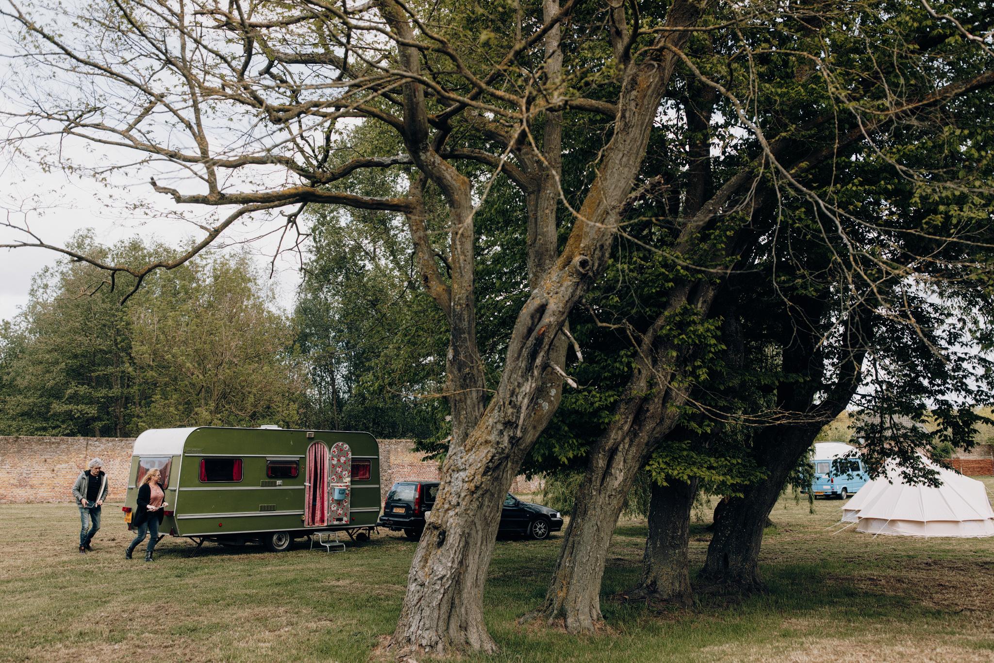 Caravan bij Kloster Graefenthal