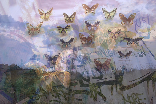 """One of Glynnis Reed's pieces, """"Night and Day,"""" archival pigment print, 2013."""