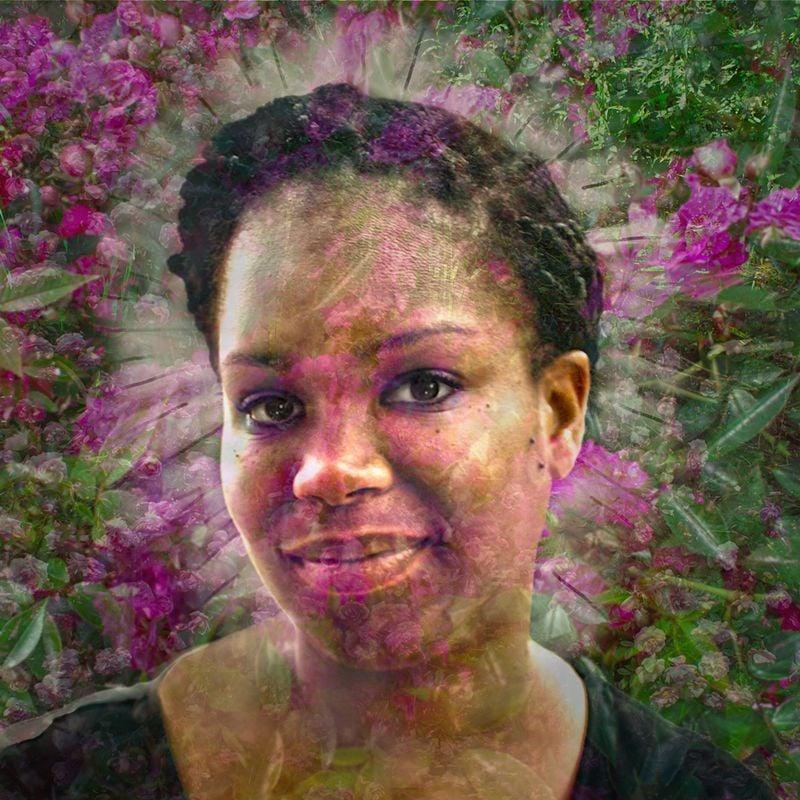Shantala with Roses