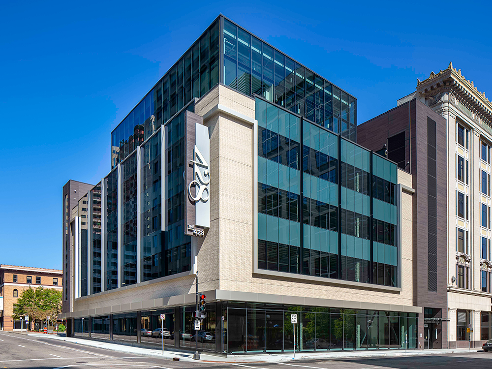The 428: your work, your way - KimbleCo was delighted to be selected for a variety of roles on this exciting downtown St. Paul new office project, the first building registered for LEED and WELL Building certifications in the state of Minnesota.Learn more