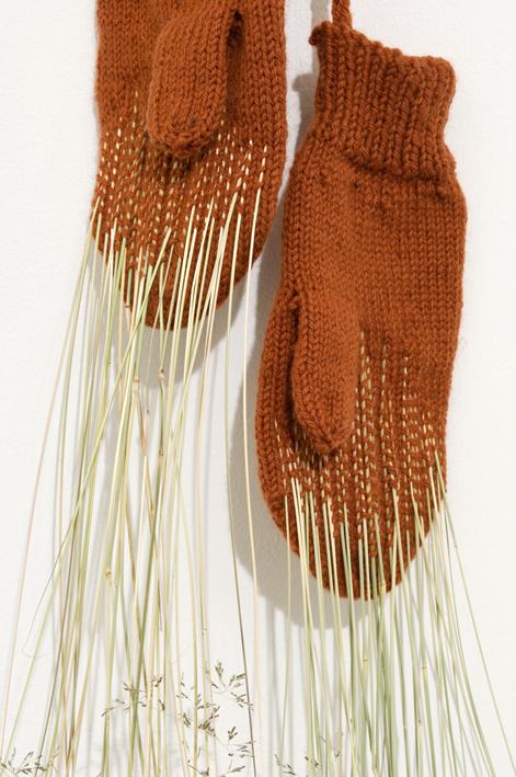 Love mittens (detail)