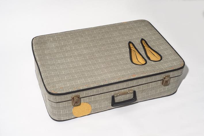 Suitcase shoes