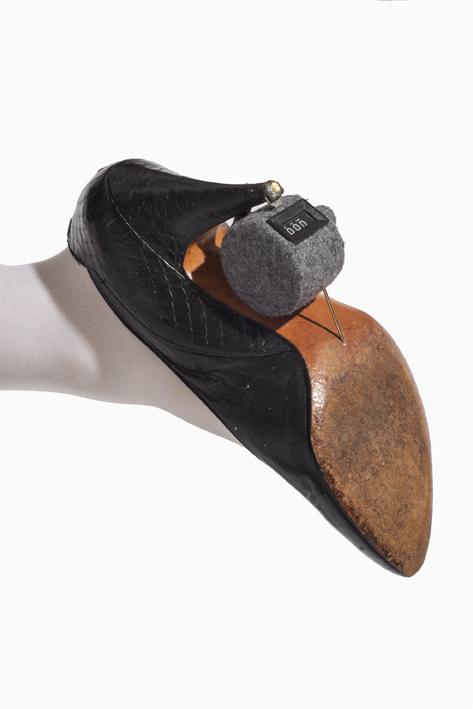 Stop/start shoe