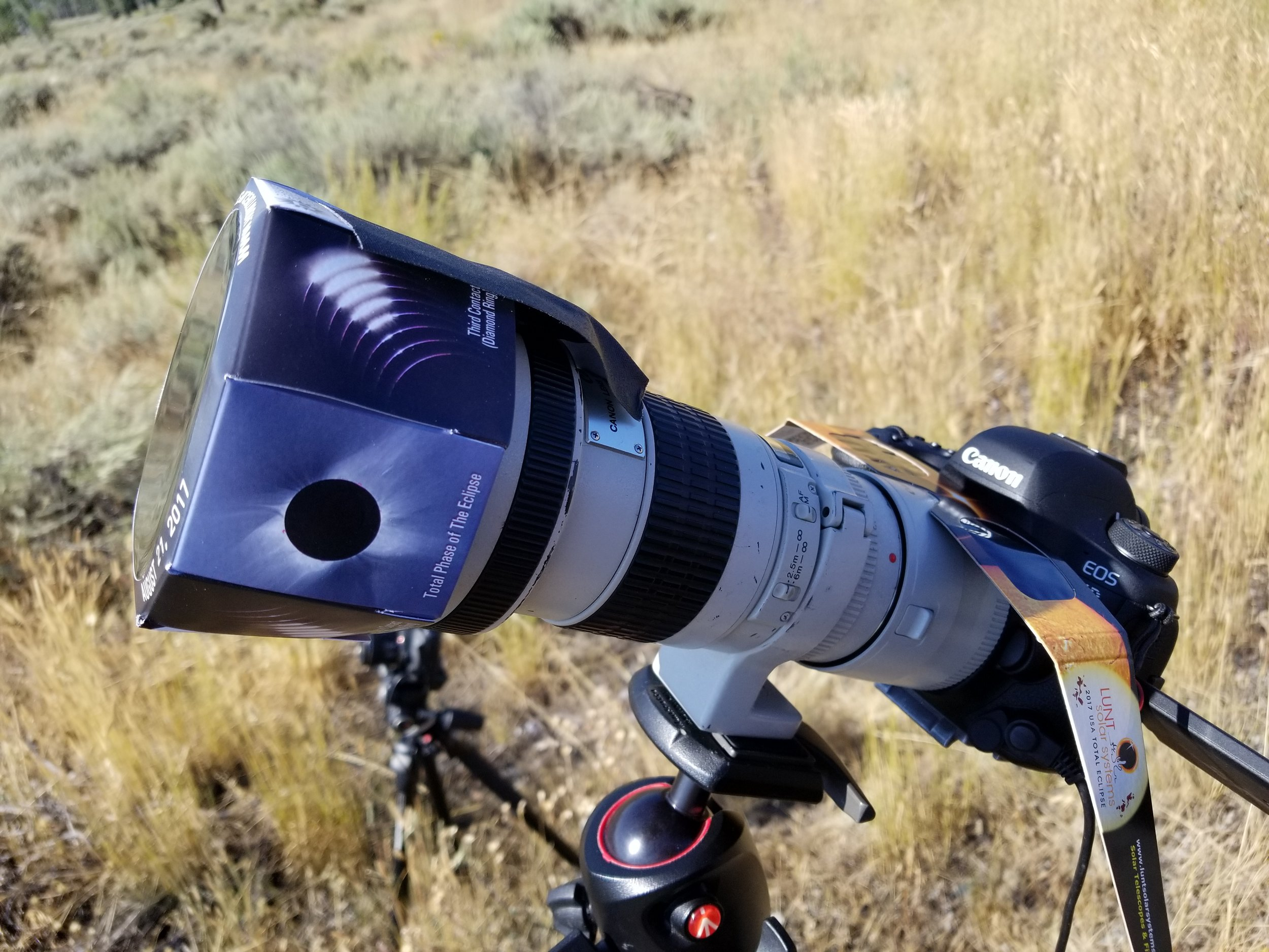 Daystar Solar filter. Canon 300mm with 2x extender.