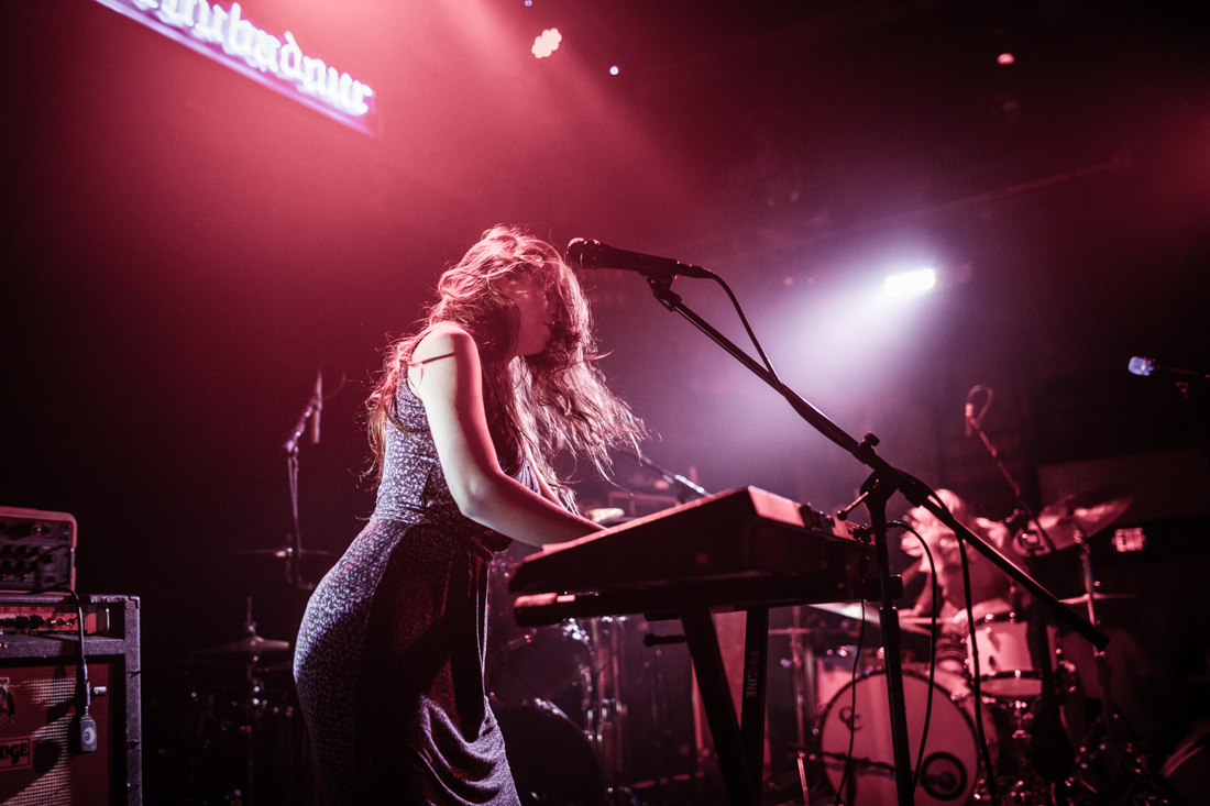 Le Butcherettes, at the Troubador in Hollywood California