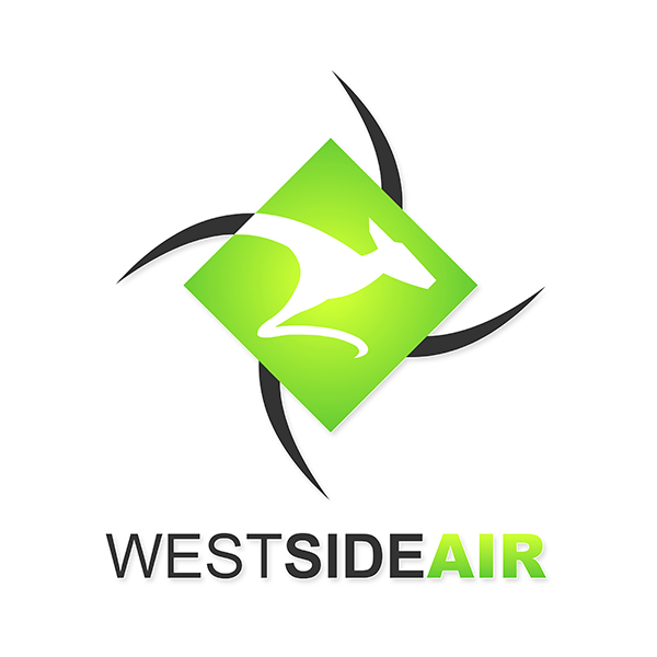 West Side Air - Logo Design by Spider Web Design