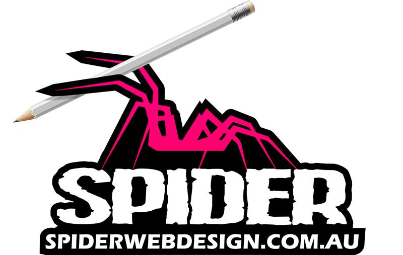 Spider Web Design - Logo Design