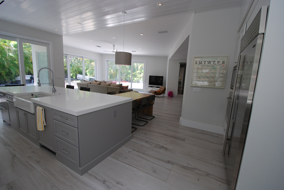 Scandinavian Flair - Full Overlay Cabinetry