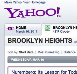 Yahoo Local Beta