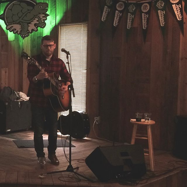 Many thanks to @terrapinbeerco for having me and to everyone who listened. I had an incredible time and it's people like you who make being on the road and away from home worth t. I can't wait to be back!  #singersongwriter #tourlife #diymusic #indieartist #acoustic #ontheroadagain #beerisgood #terrapinbeer