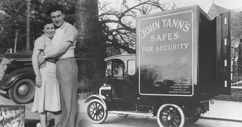 John and Stella Mancini, Founder,   Bank Vault Service & Lock Company; Distributor of John Tann
