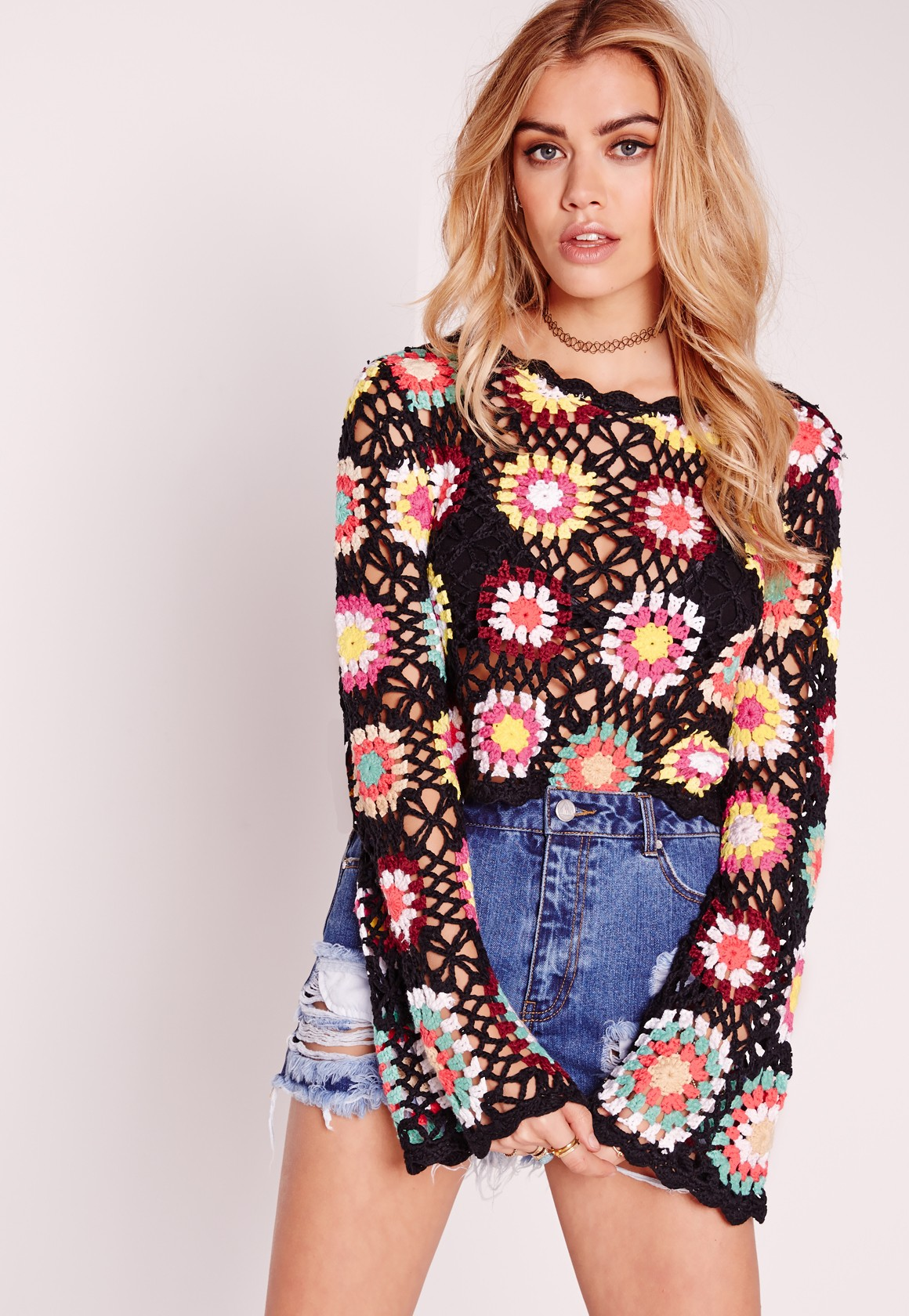 Crotchet top from Missguided