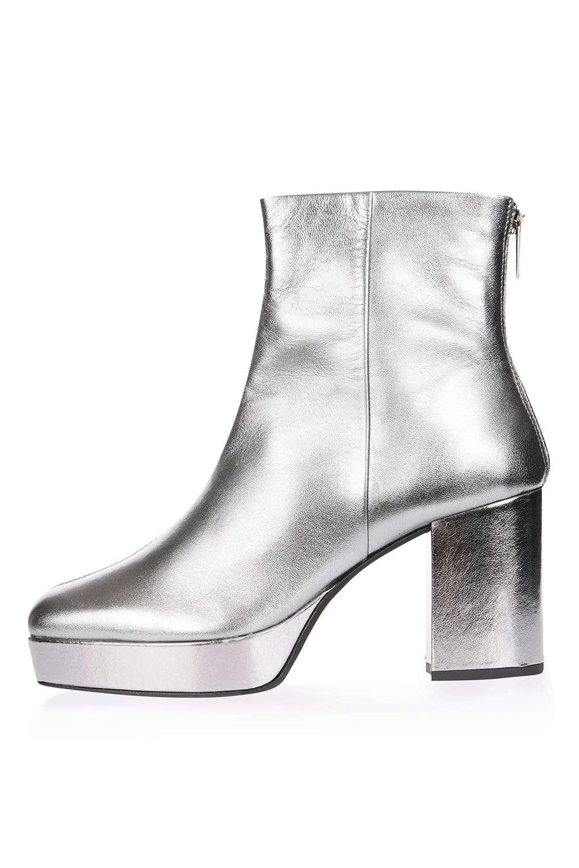 Topshop Margarita Platform Ankle Boots