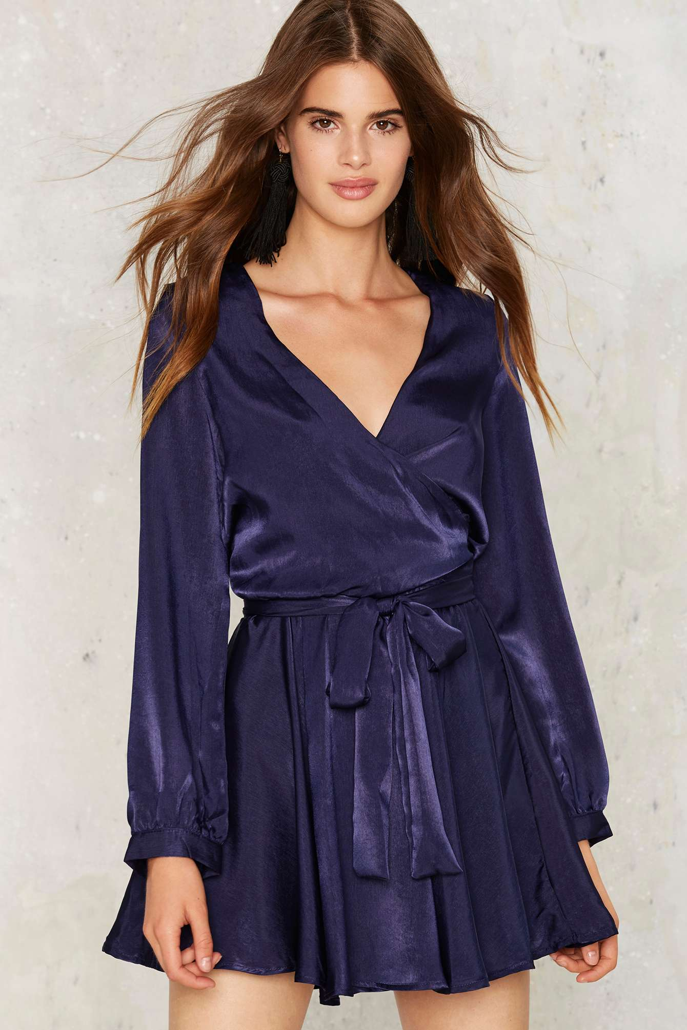 Nast Gal Slink Up Mini Dress