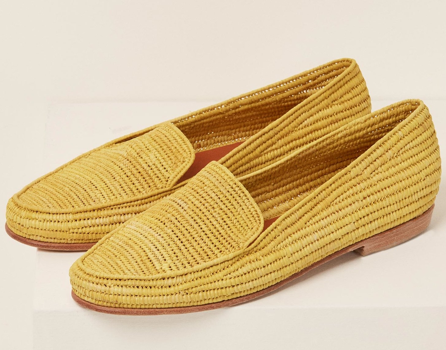 Proud Mary Raffia Loafers
