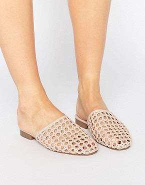 MARBLES Woven Mules