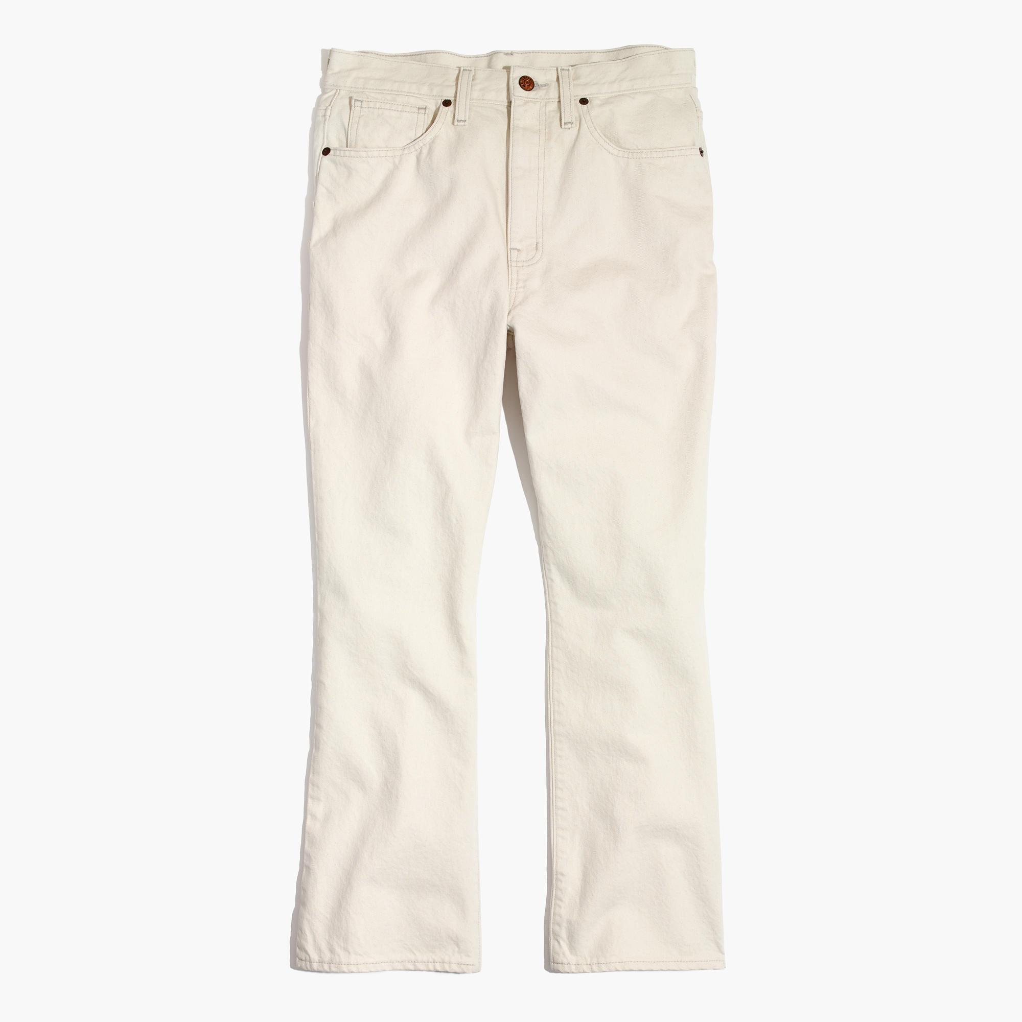 Retro Crop Bootcut Jeans
