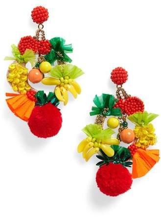 J.Crew Fruit Bowl Earrings