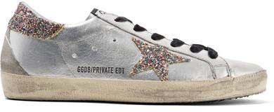 Golden Goose Superstar Glittered