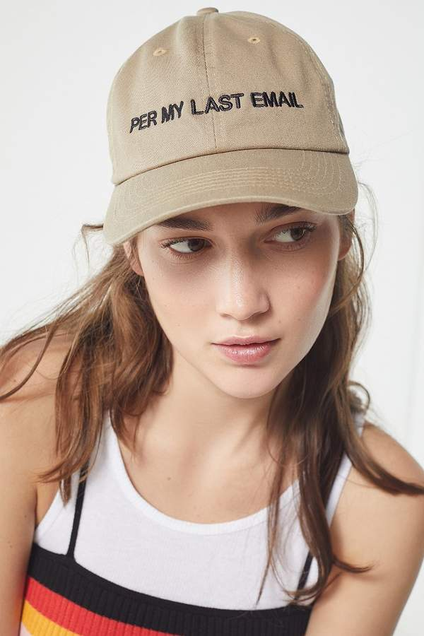 Intentionally Blank Circling Back Baseball Hat