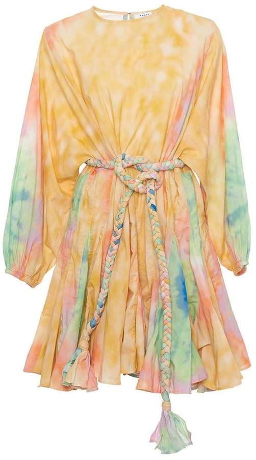 Rhode Resort Multicolor Ella Tie Dye Dress