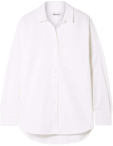 Madewell - Oversized Cotton And Modal-blend Shirt