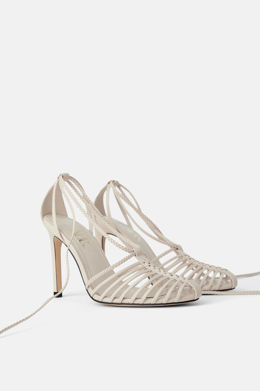 Zara Heeled Fisherman Sandals