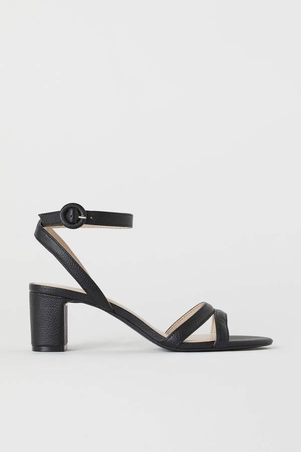 H&M Sandals Black