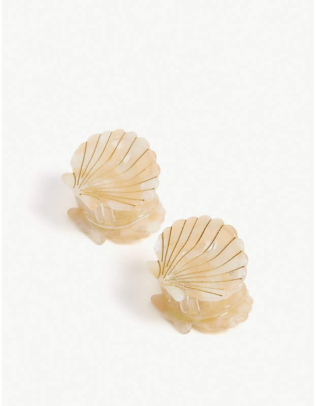 VALET Ursula resin hair clips