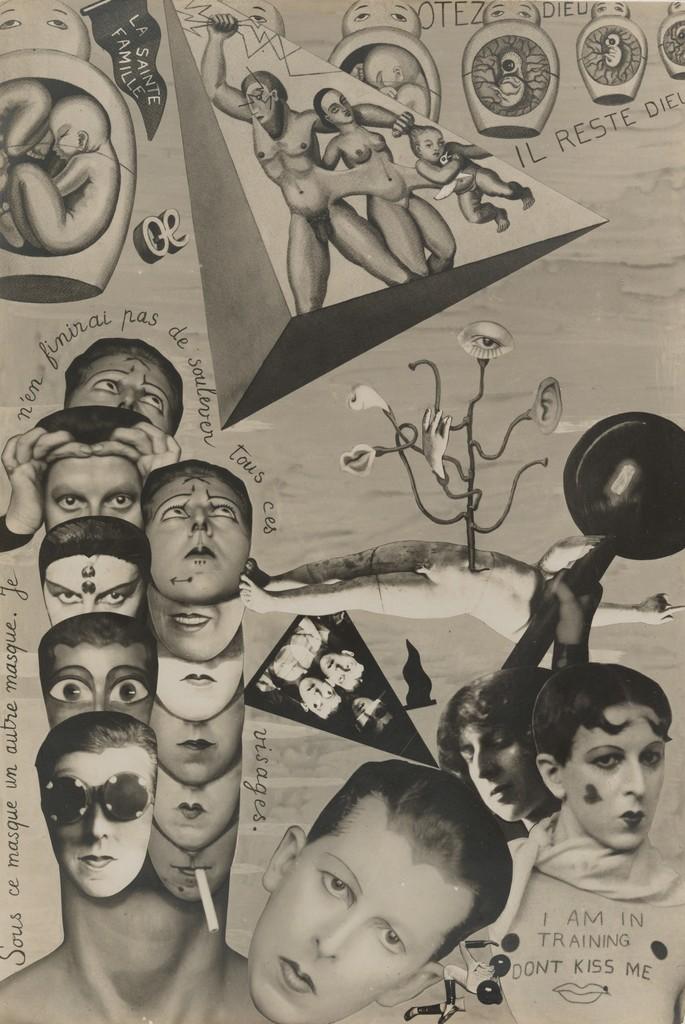 Claude Cahun, I.O.U. (Self-Pride) , [1929-1930]