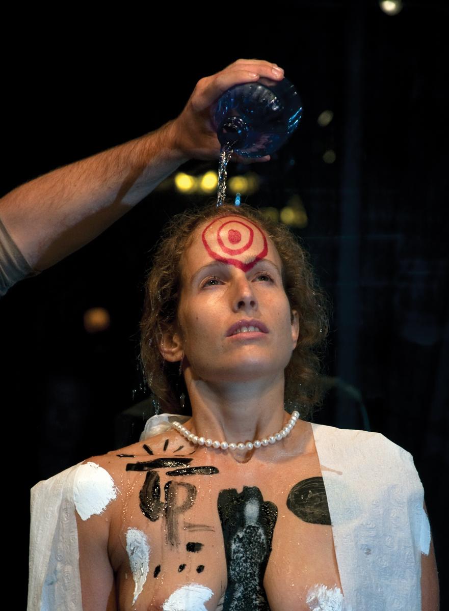 Homage to Marina Abramovic (2010)
