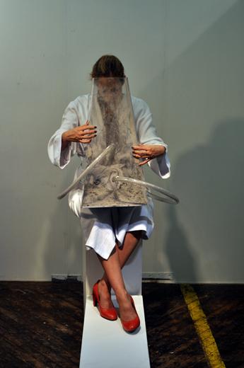 Ash Breath Symphony (5h performance, Fountain Art Fair, NY 2013)