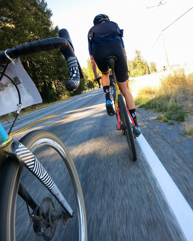 Post-lunch spin to the death climb at @grinduro I was lucky enough to link up with @kevlarisbulletproof for a hot minute. . . . @mashsf @rapha @santacruzbicycles @envecomposites @chriskingbuzz @wearespooky