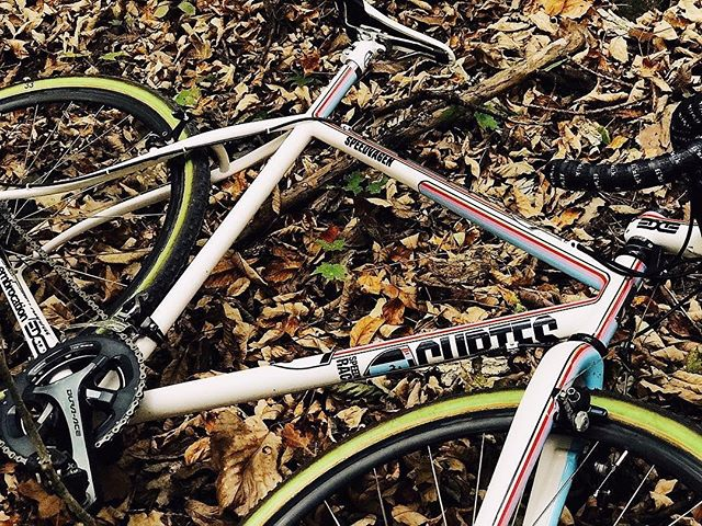 What's your bike of choice for CX season this year? There's no better excuse for a gratuitous bike porn shot than a @jeffcurtes CX from @speedvagen . . #cx #cyclocross #steel #musa #enve @envecomposites @chriskingbuzz @rideshimano #pdx #portland #cycling #roadslikethese #photooftheday #custom