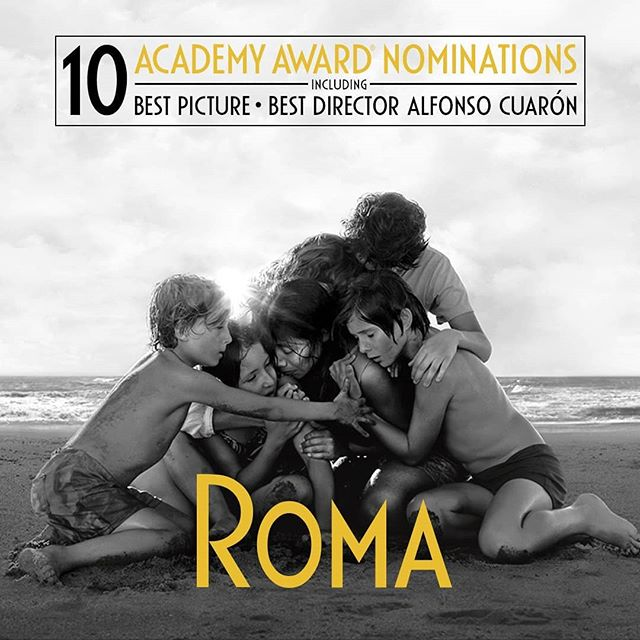 Congratulations to @romacuaron for a well-deserved 10 Oscar nominations!