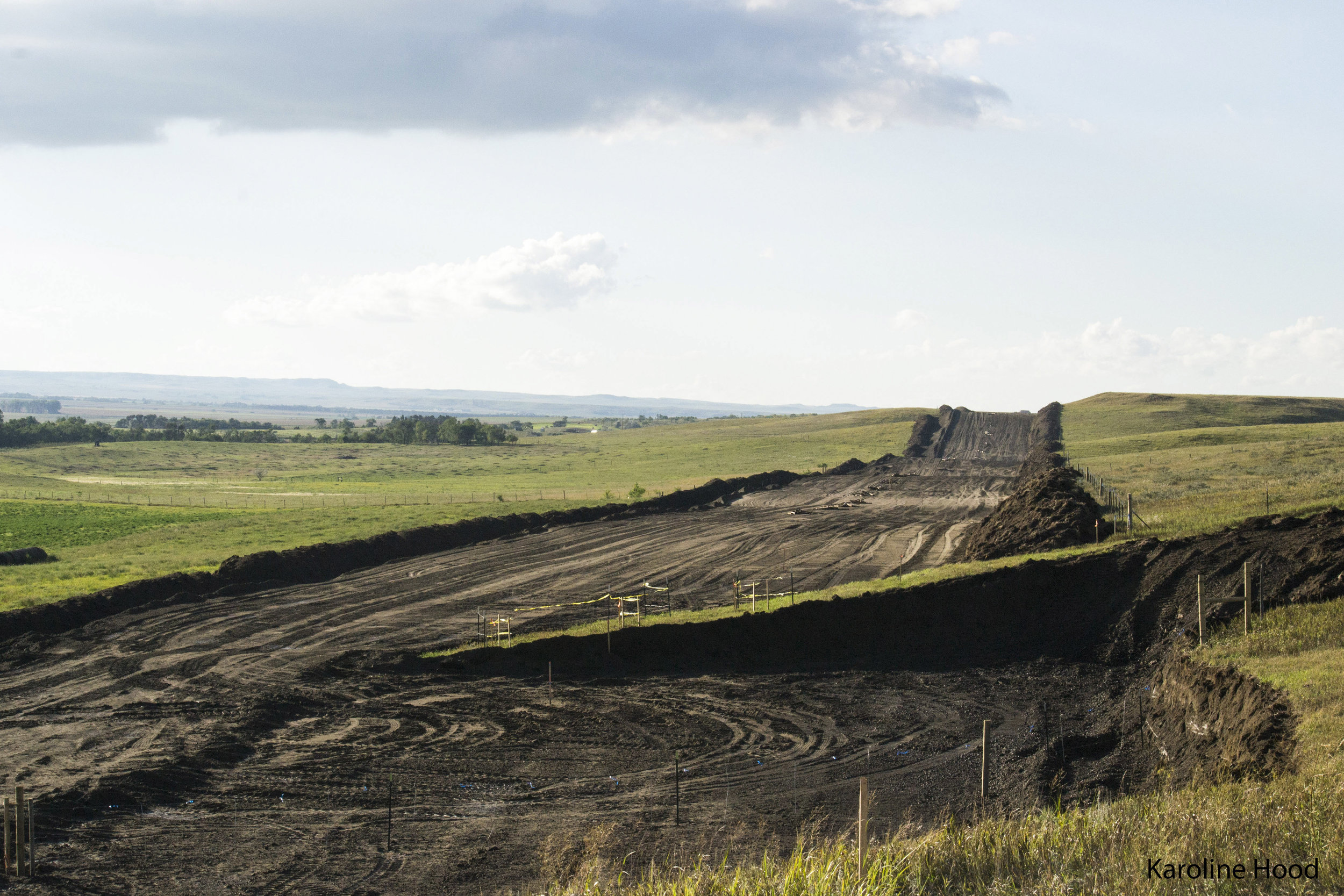 Pipeline work.