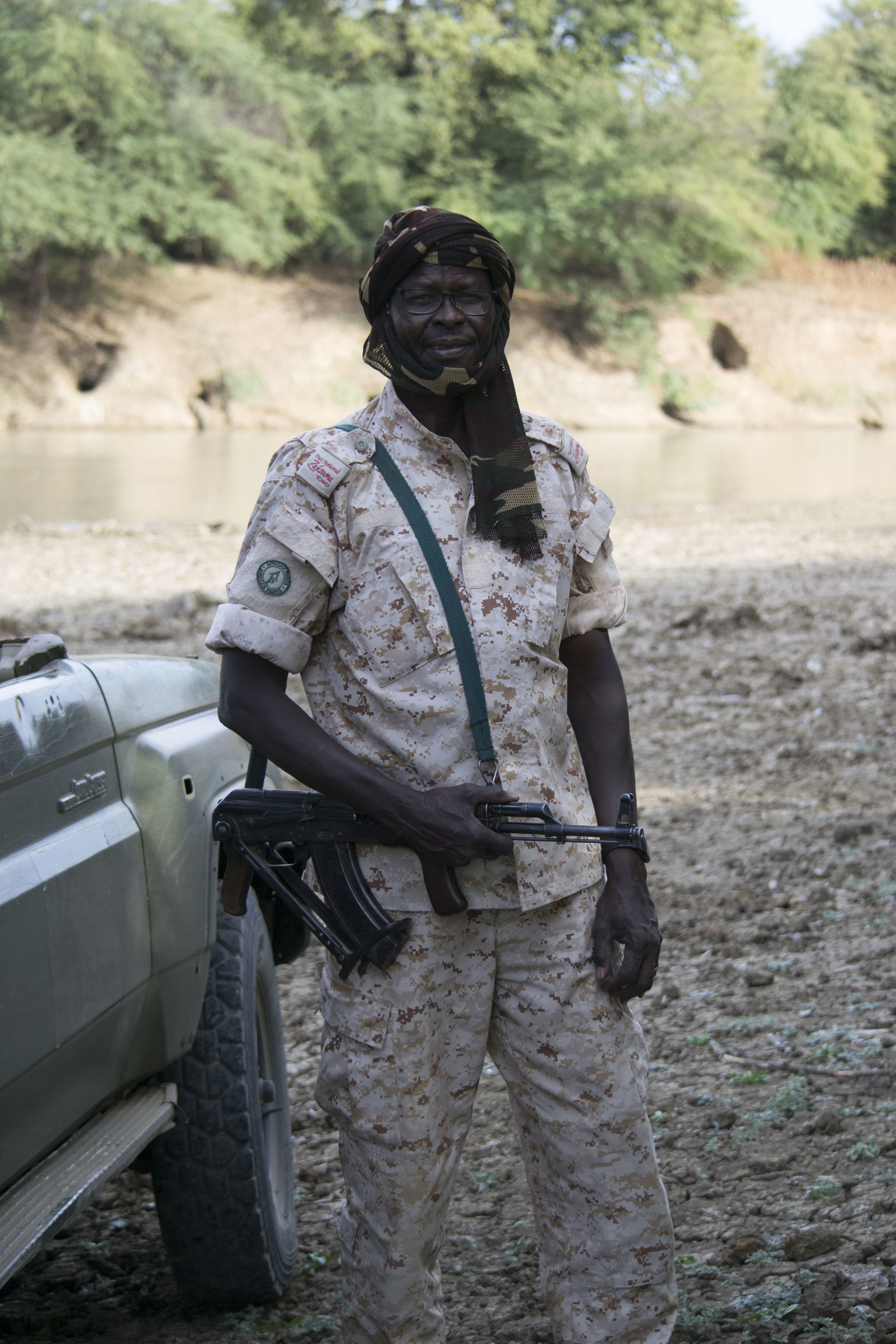 Zakaria Hassan, Ranger at Zakouma park.