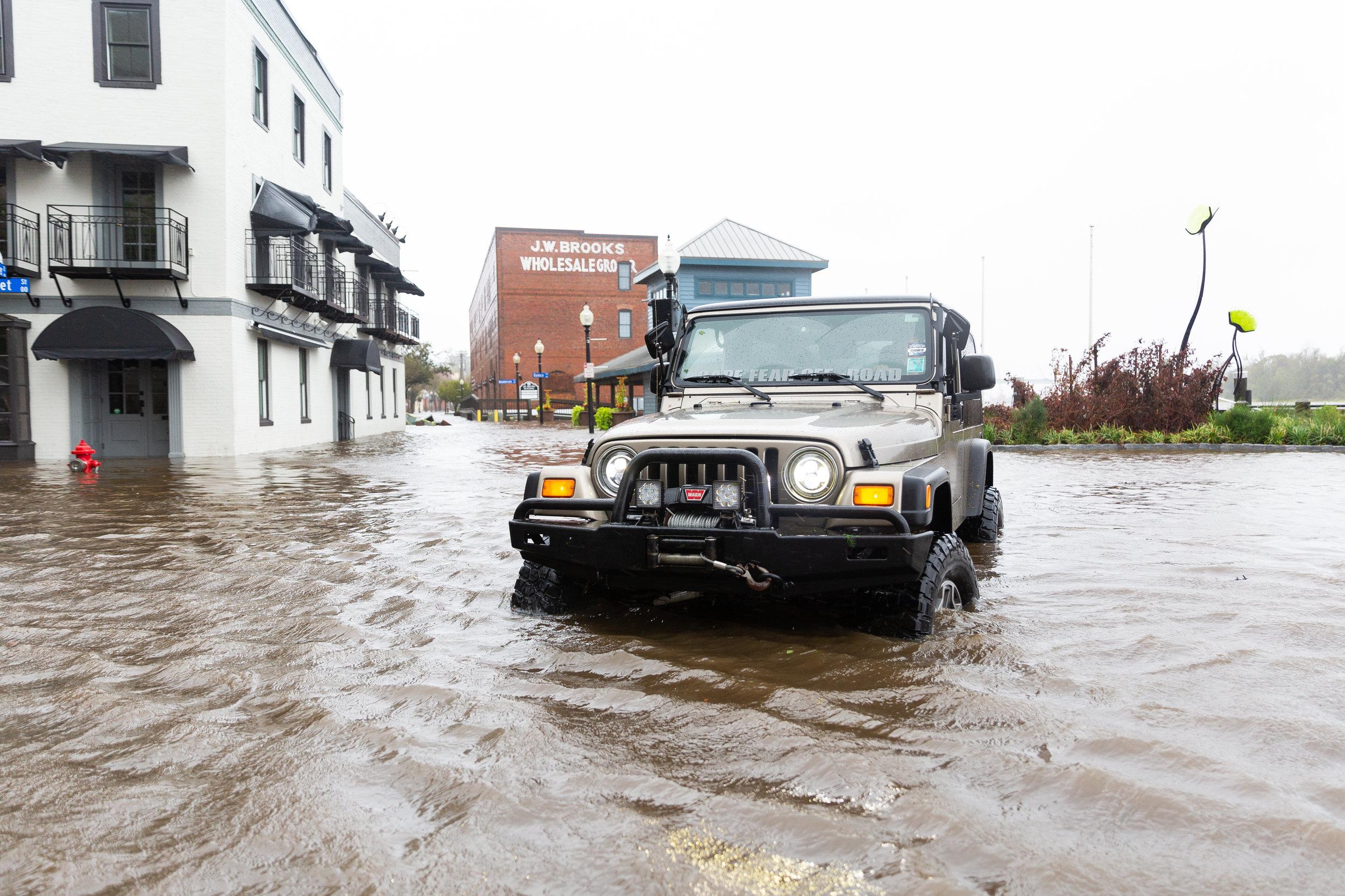 Hurricane Florence Floods Wilmington